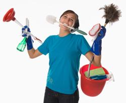 čiščenje hiše