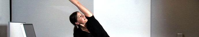 Pisarniška telovadba: Za raven trebušček