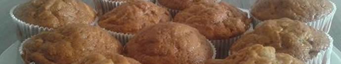 Slasten, hiter in zdrav - recept za Jabolčni muffini s chia semeni