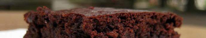 Temni čokoladni acai browniji